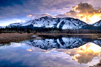"""Mount Tallac Reflection No. 1""  South Lake Tahoe, CA"