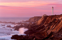 """Point Arena Lighthouse No. 2""  Mendocino County, CA"